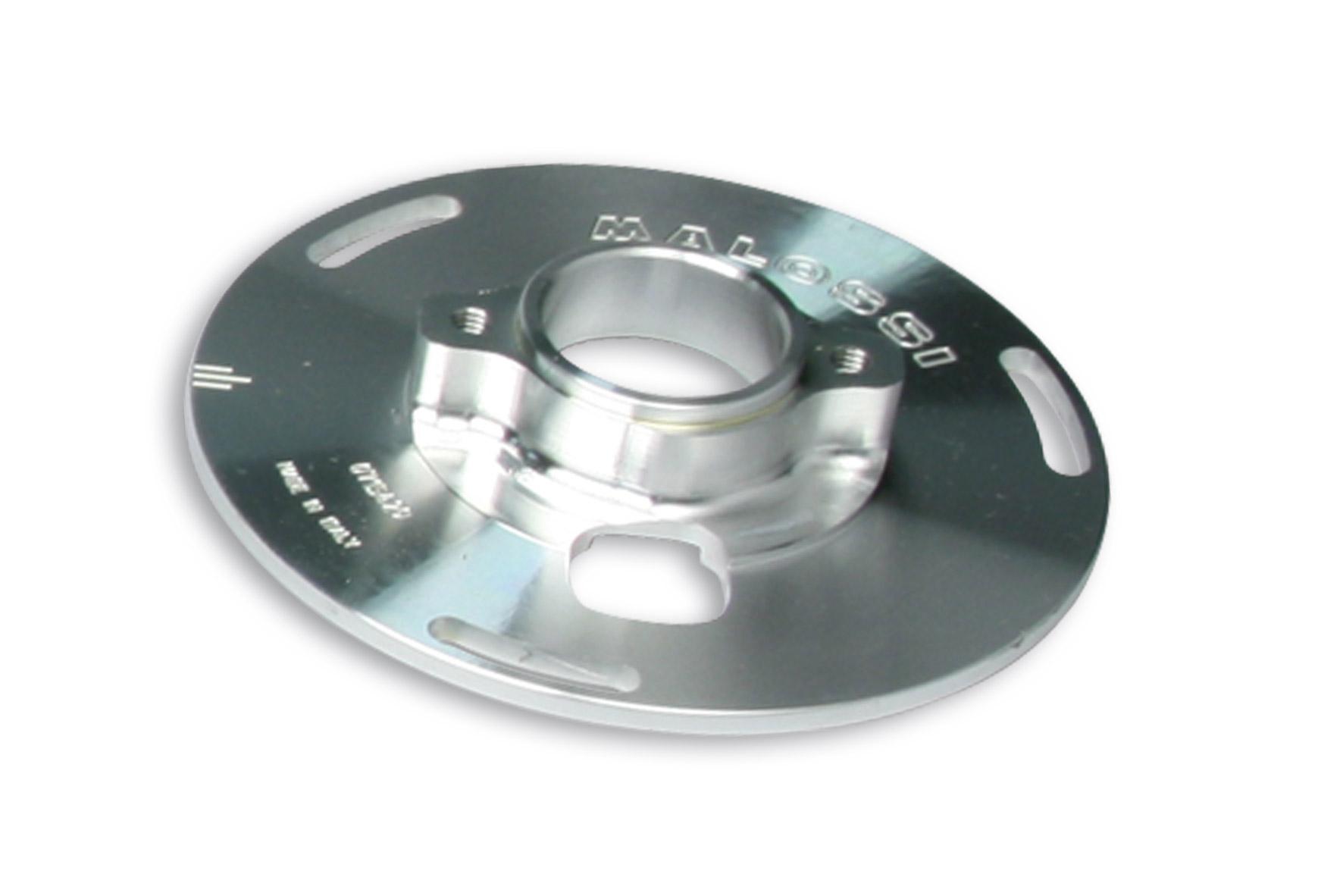 Flangia di fissaggio statore Ø 35,8 per accensione VESPower per Vespa COSA e PX 125 - 150 - 200 2T