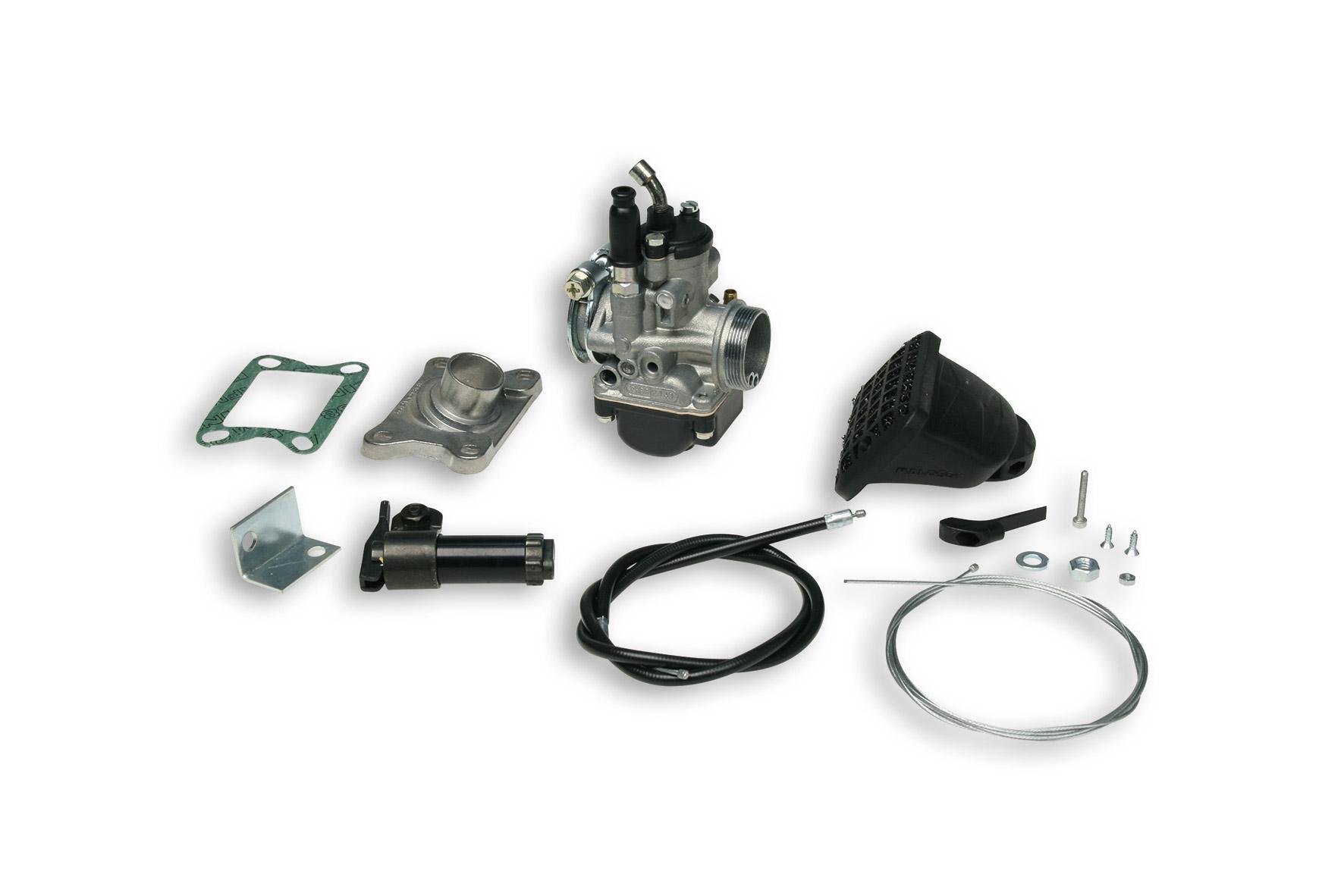 Impianto alimentazione PHBG 21 con filtro per Malaguti Fifty - Fifty Top - MDX LC 50 cc