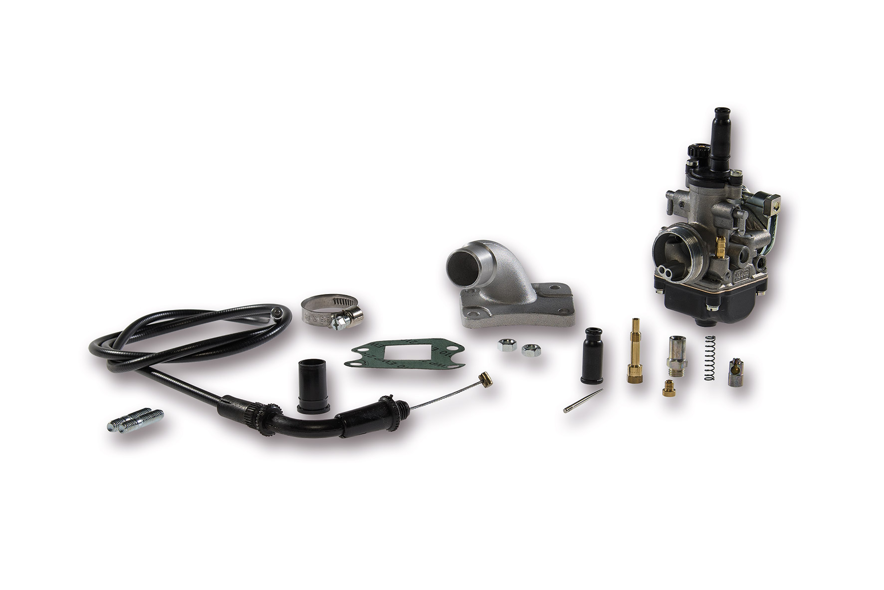 Impianto alimentazione PHBG 17 per Honda Wallaroo 50 cc