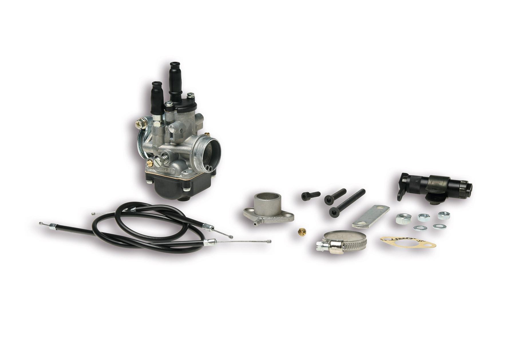 Impianto alimentazione PHBG 19 AS per Honda Vision Met In 2T 50 cc - Kymco DJ X 2T 50 cc