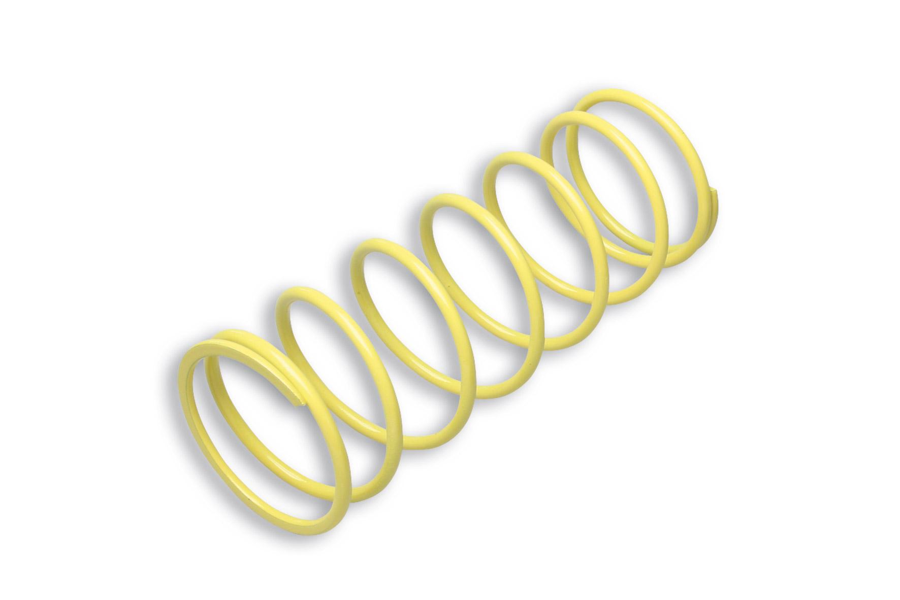 YELLOW VARIATOR ADJUSTER SPRING ext.Ø 67,2x181mm thread Ø 4,7mm 3,6k