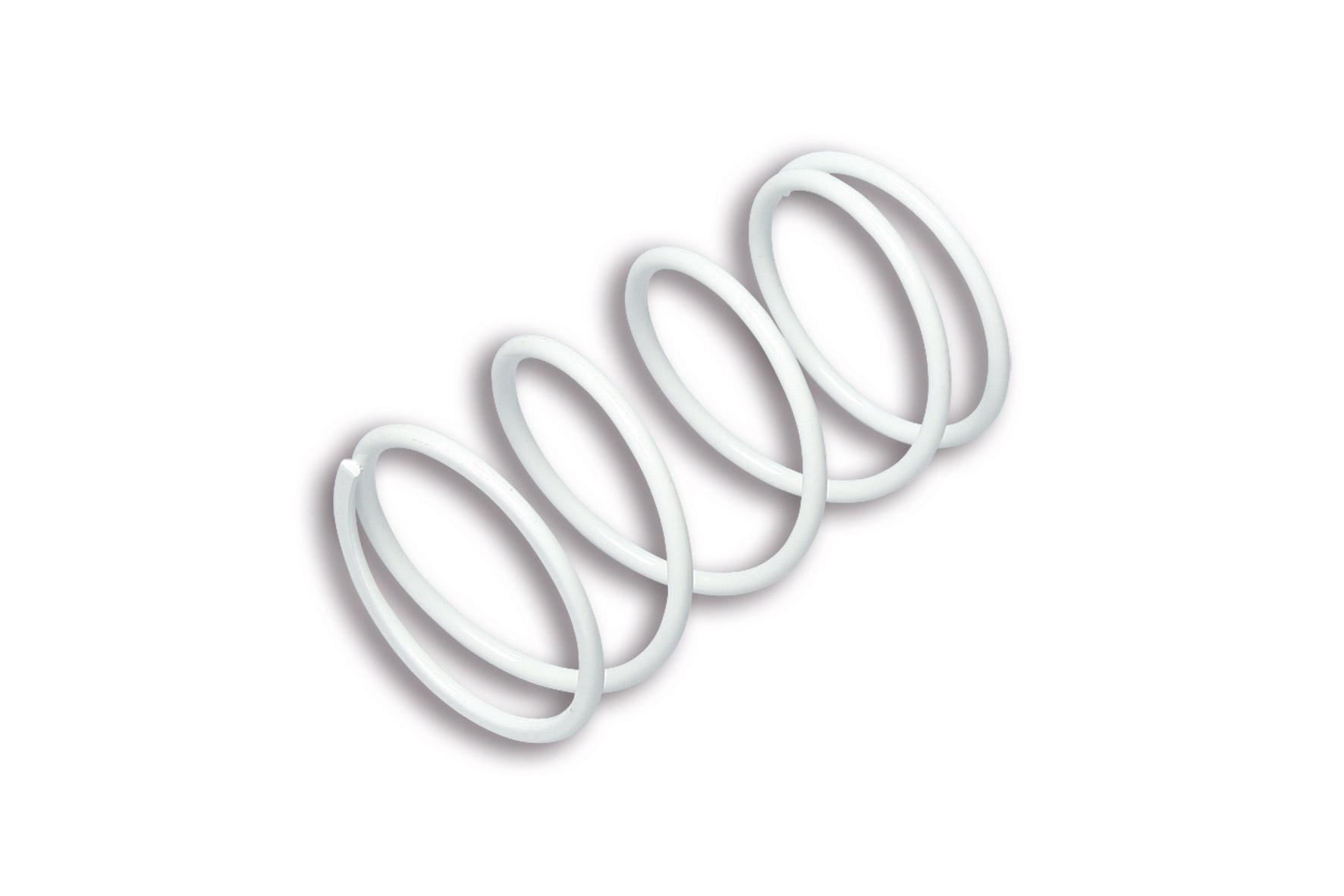 WHITE VARIATOR ADJUSTER SPRING ext.Ø 65x116mm thread Ø 4,5mm 6,2k