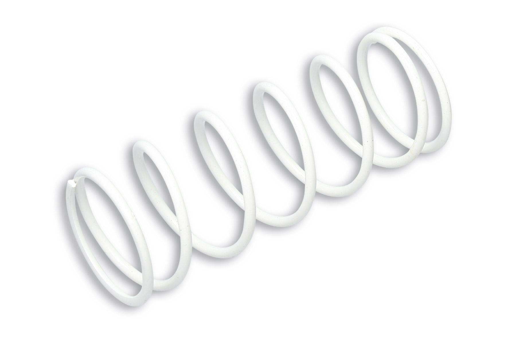 WHITE VARIATOR ADJUSTER SPRING ext.Ø 57,8x150mm thread Ø 4,2mm 4,0k