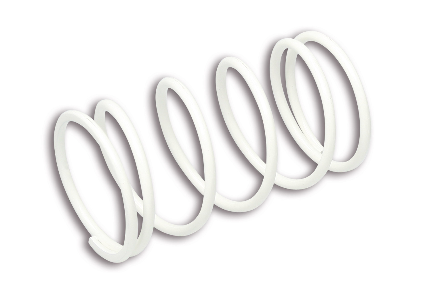 WHITE VARIATOR ADJUSTER SPRING ext.Ø 57,5x105,5mm thread Ø 4mm 4,2k