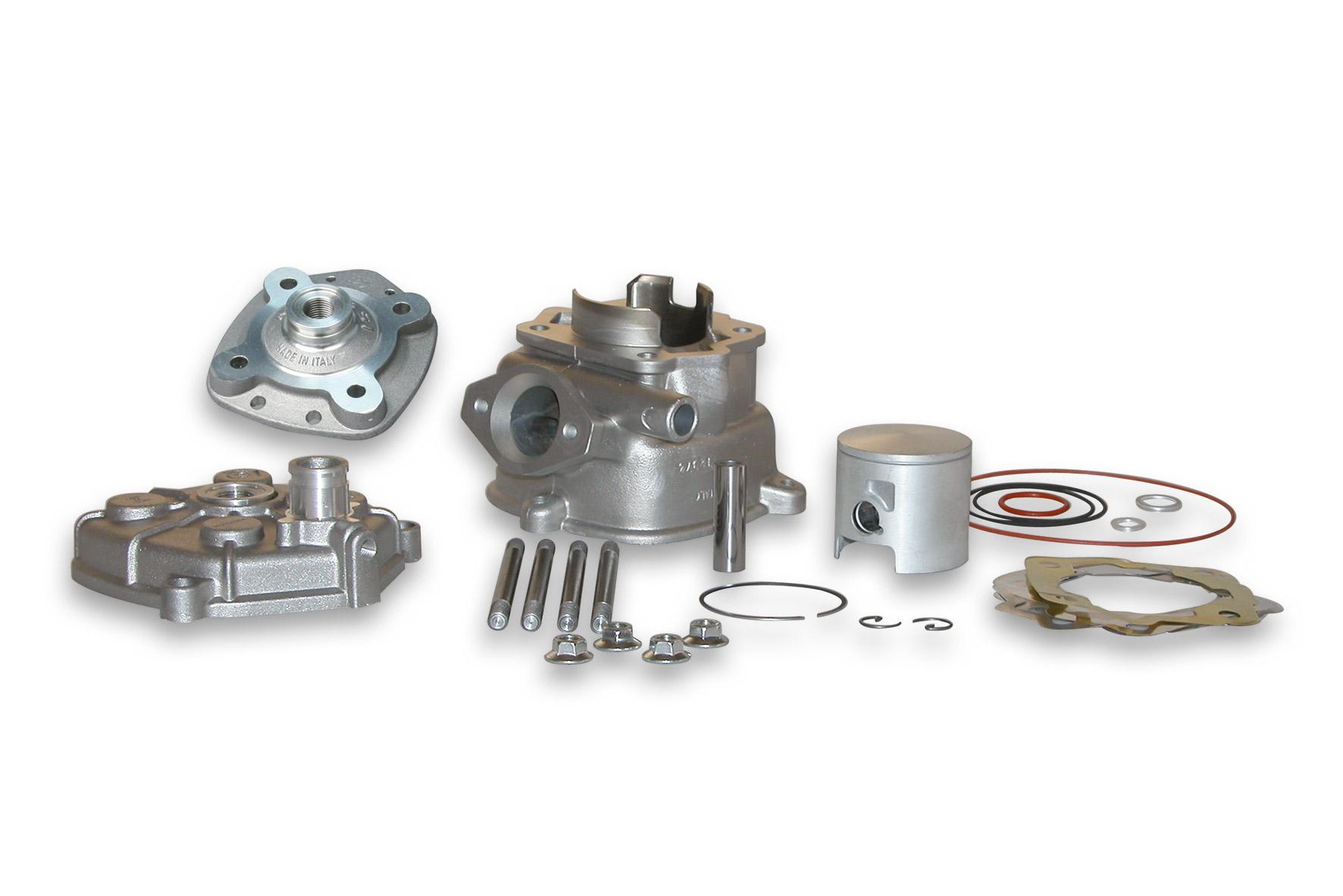 Gruppo termico MHR TEAM Ø 50 in alluminio H2O per testa scomponibile