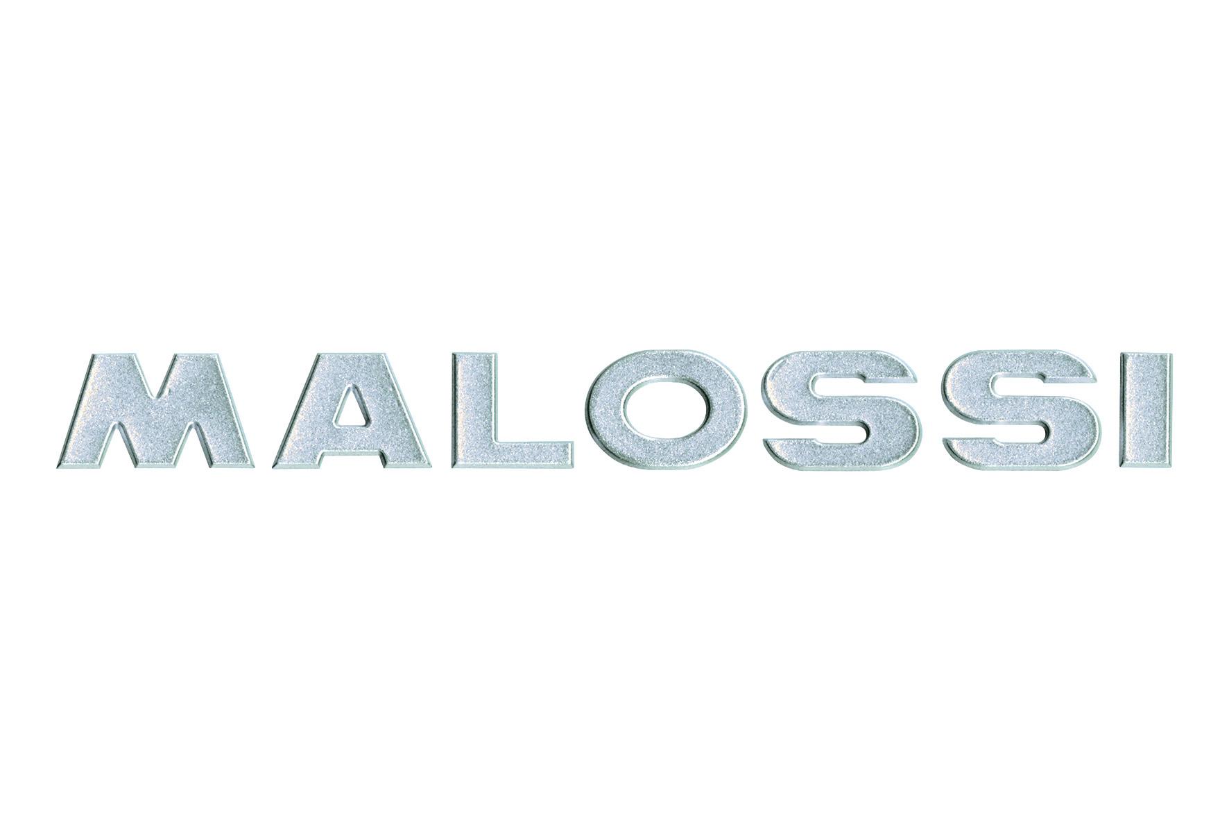 Adhesivo Malossi 3D silver - longitud 21 cm