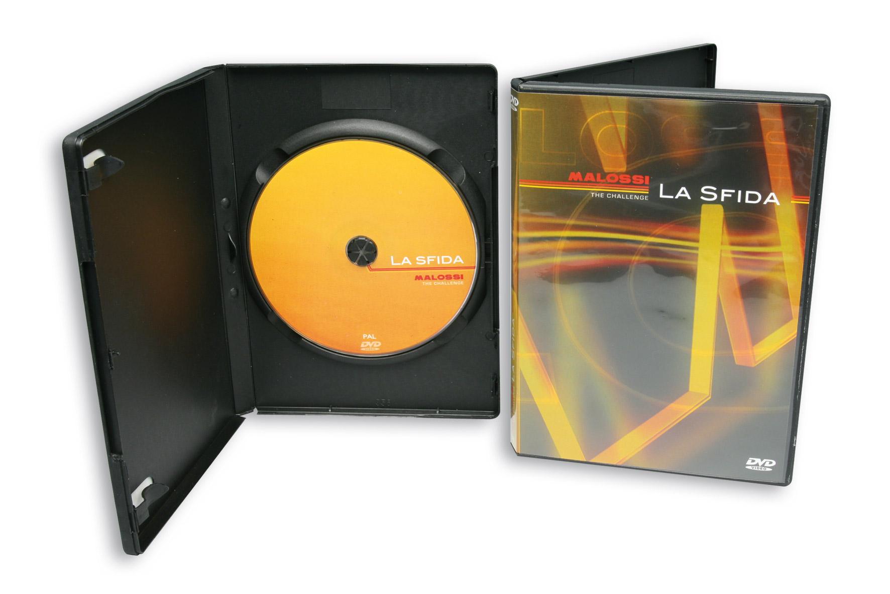 "MALOSSI DVD ""The Challenge"" - PAL vers."