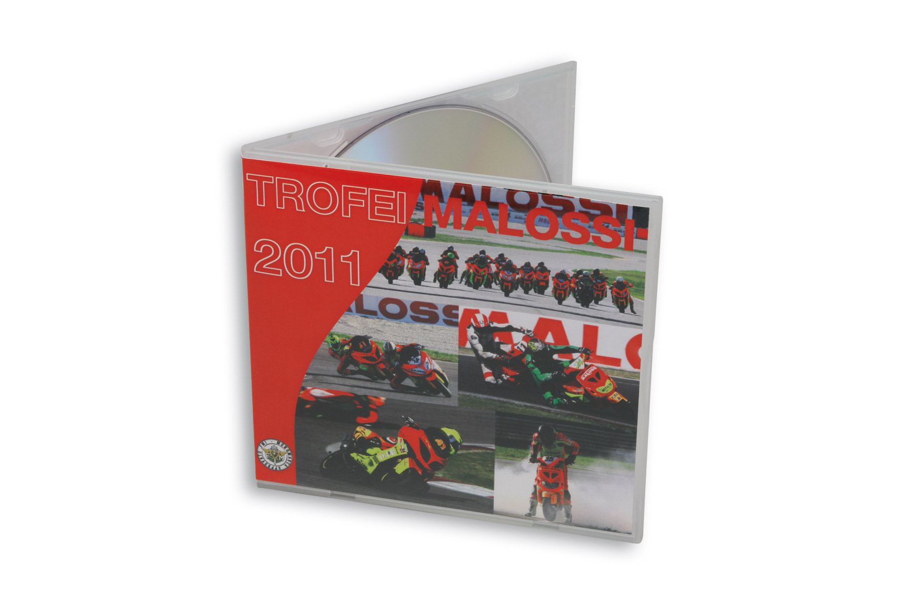 """MALOSSI DVD """" Trophy races 2011 """""""