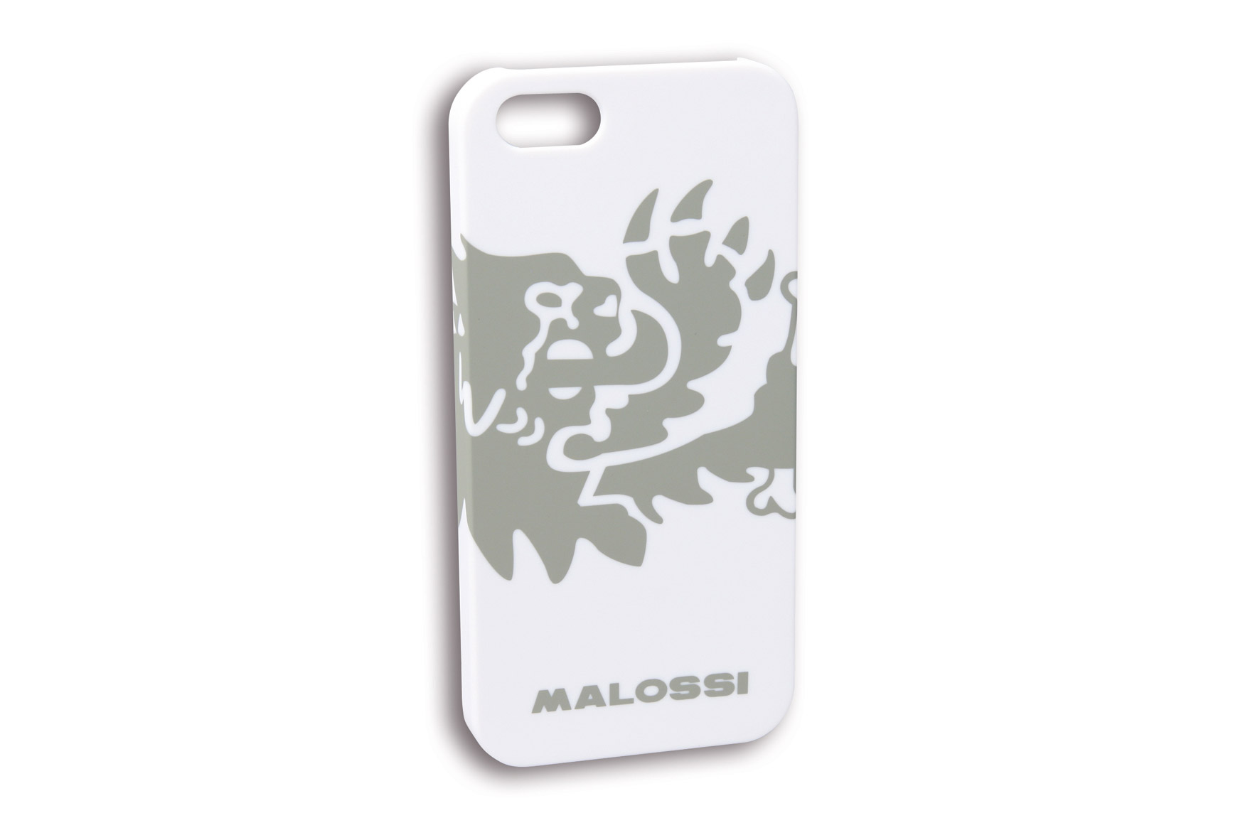 COVER LION Malossi for iPhone 4-4S WHITE