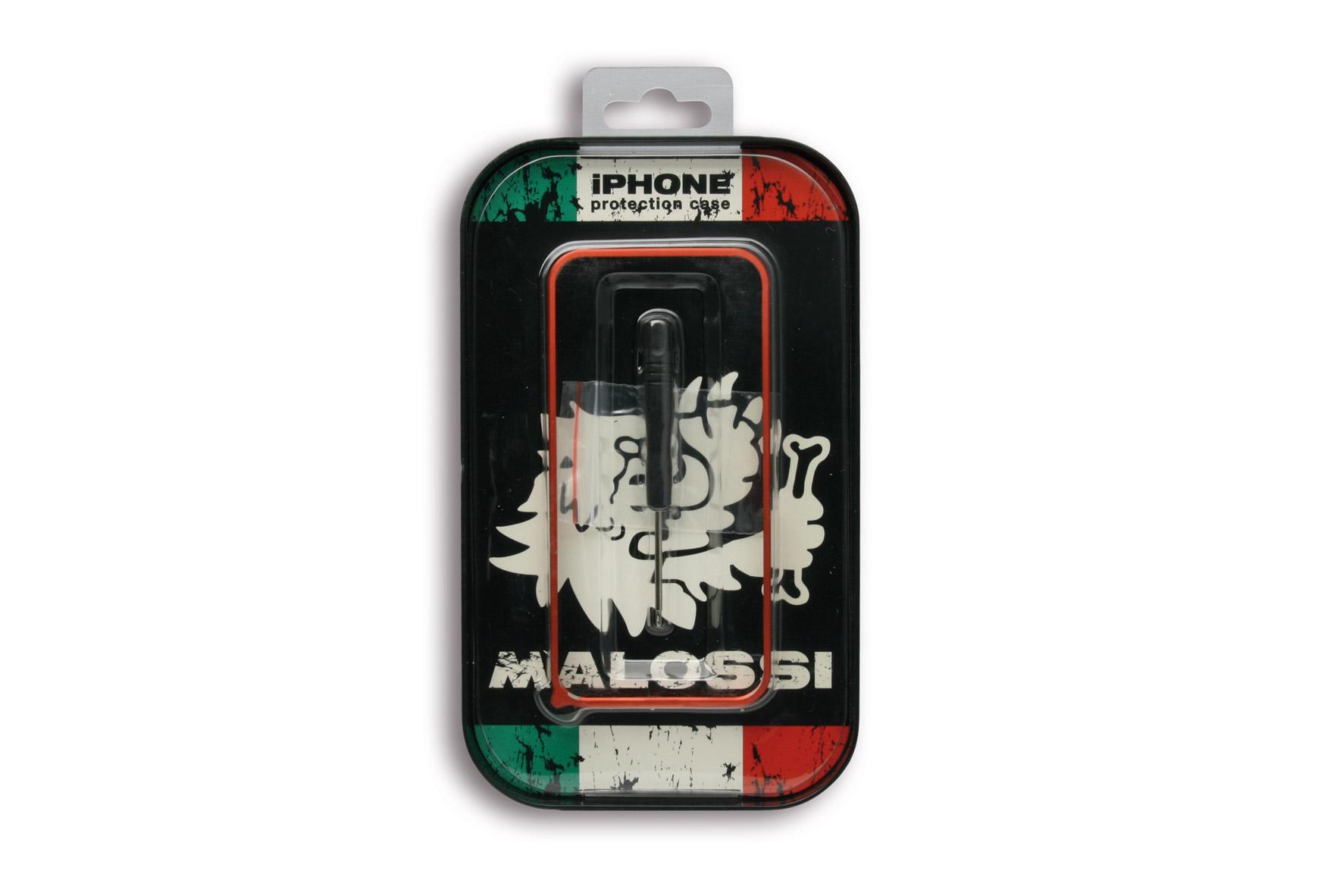 COVER BUMPER Malossi - aluminium for iPhone 5-5S