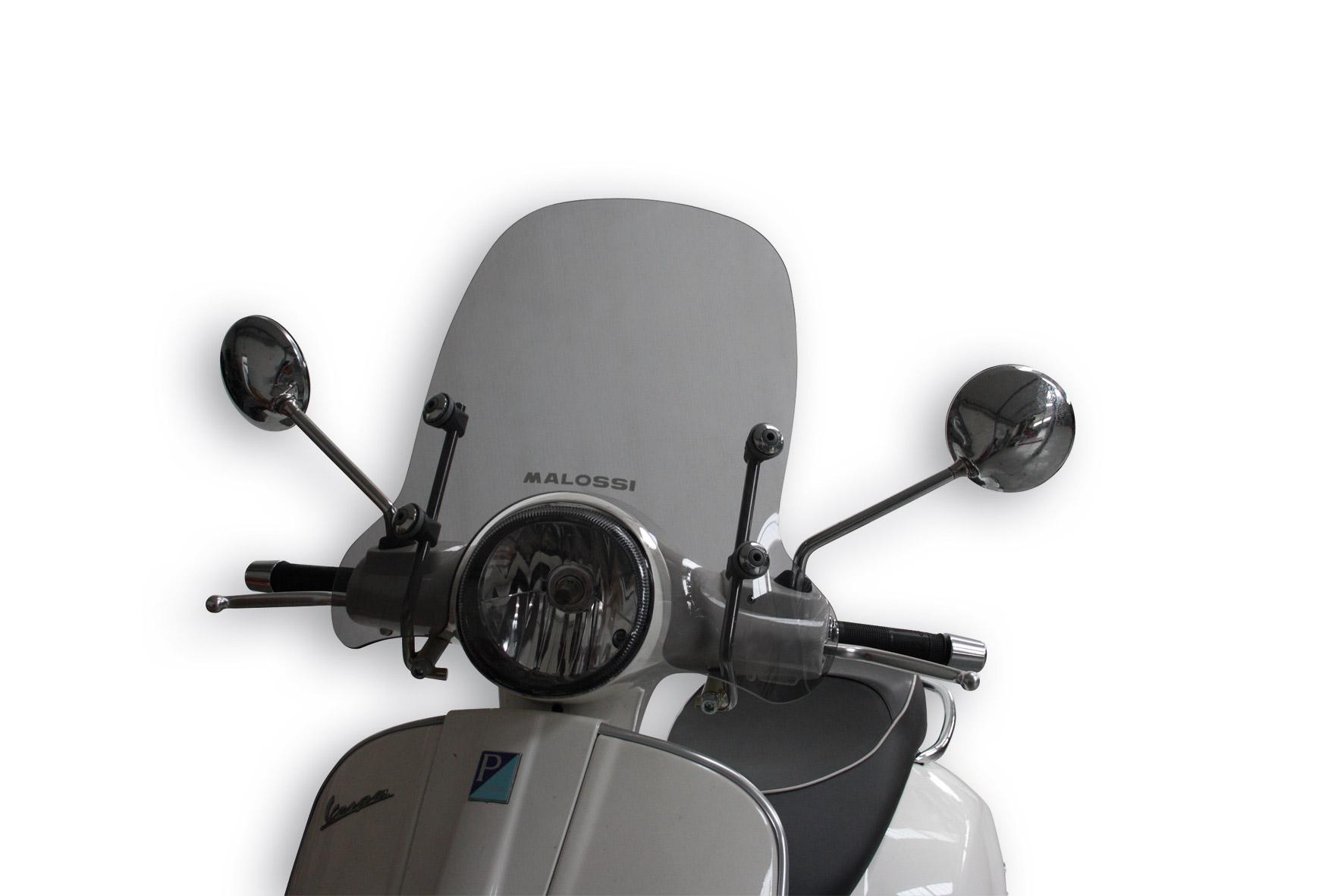 Sport Screen Light Smoke W 500xh 330 Thk 3 Mm Dettaglio Prodotto Malossistore