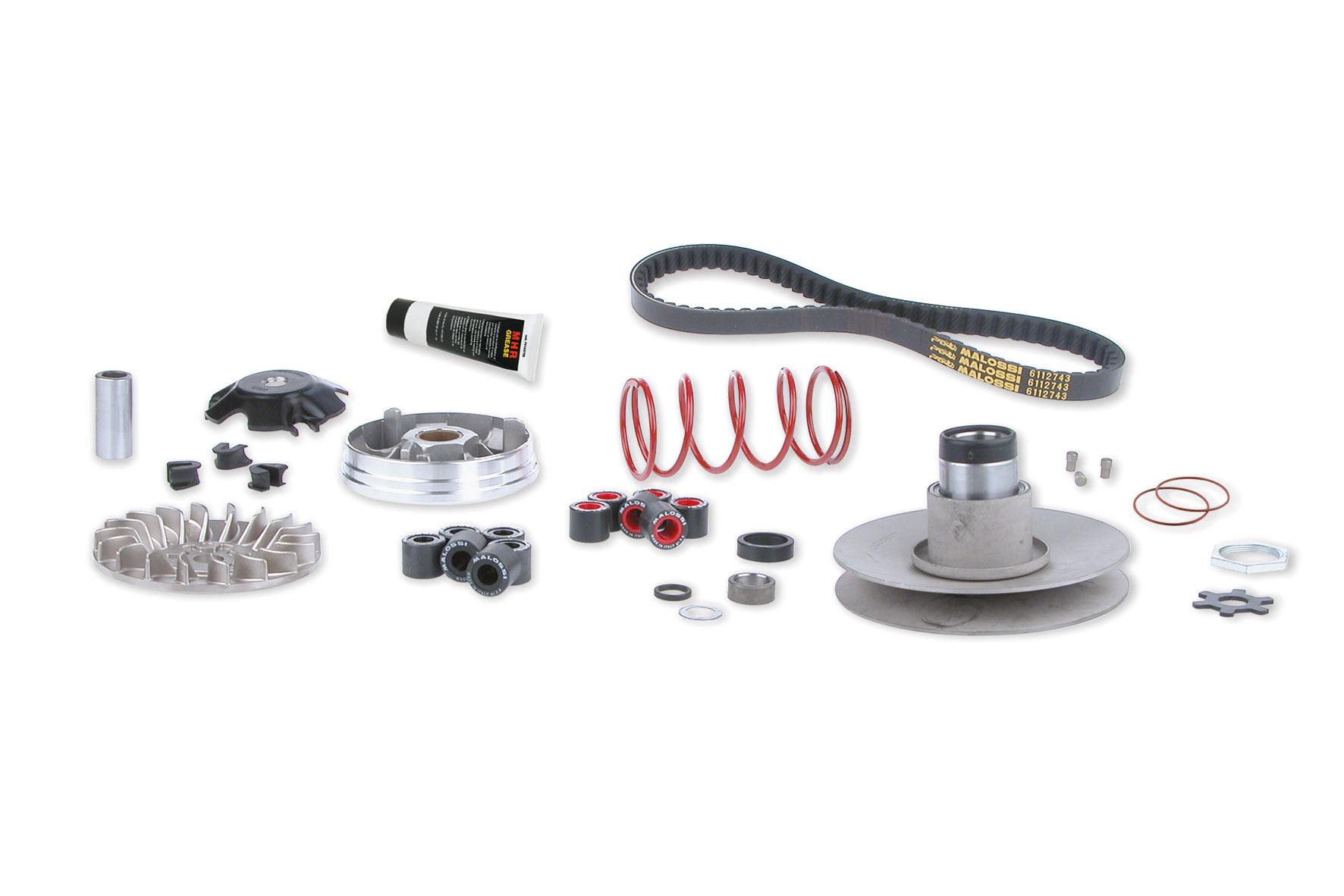 Grupo transmisión completo OVER RANGE para motores Yamaha - Minarelli