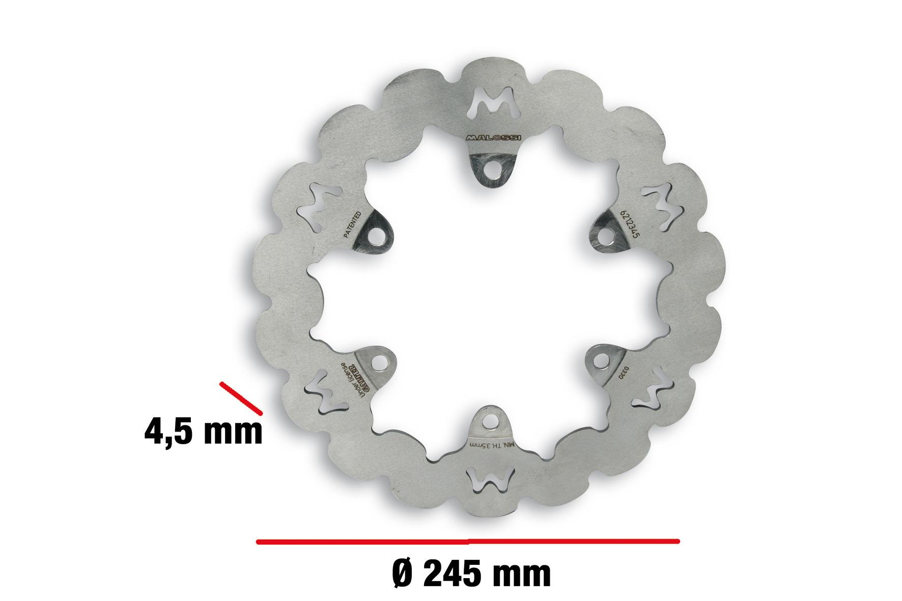 Disco freno WHOOP DISC Ø esterno 245 - spessore 4,5 mm