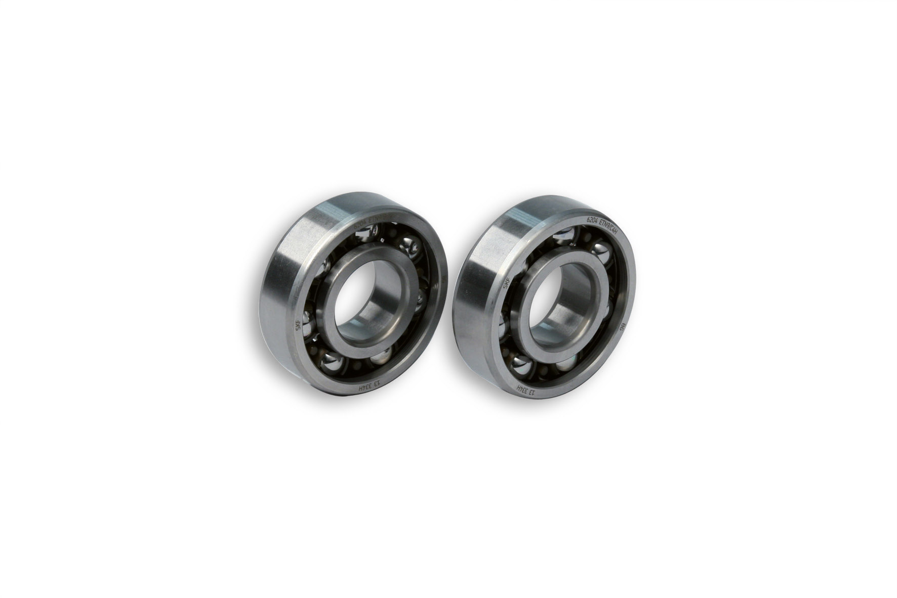 2 ROLLER BEARINGS with BALLS Ø 20x47x14 (C4H) for CRANKSH. moto DERBI-scooter MIN./YAM.50