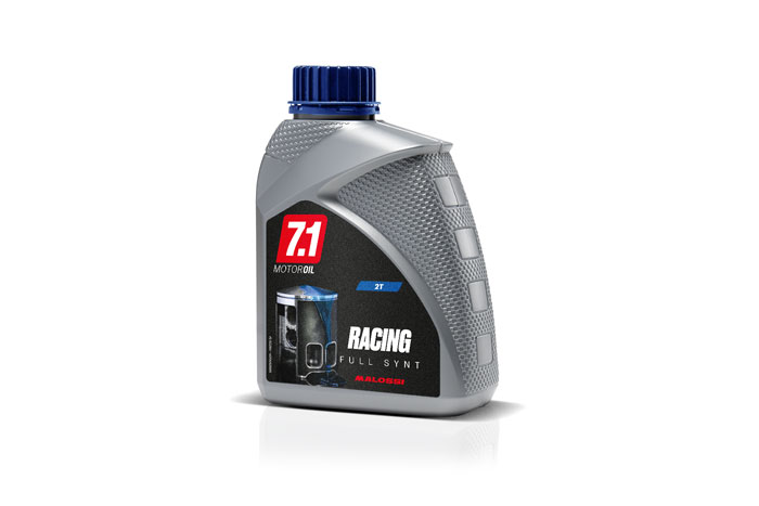 BOTTLE 7.1 2T OIL RACING Full Synt 1L for vehicles with separate lubrication