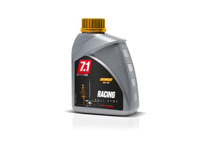 FLASCHE 7.1 4T OIL RACING Full Synt (SAE 5W-40) 1L -MOTO