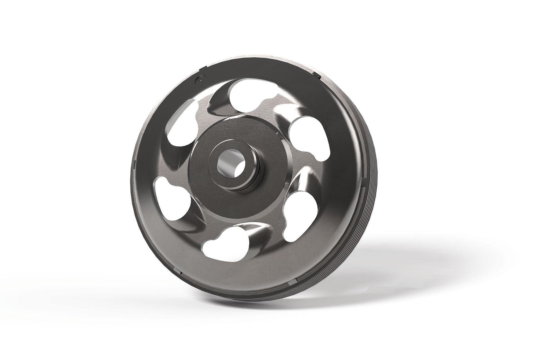 Campana frizione MAXI WING CLUTCH BELL Ø interno 160 mm e peso 1734 grammi